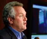 Andrew Breitbart holds a news conference on Acorn Revealed: The Philadelphia Story at the National Press Club. Photograph: Win McNamee/Getty Images
