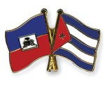 Banderas Hait - Cuba