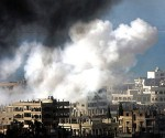 Tripoli bombing. Archive photo