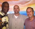 Danny Glover, Gerardo Hernandez and Saul-Landau