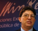Minister of Foreign Affairs of the Republic of Cuba Bruno Rodríguez Parrilla