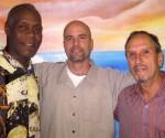 Danny Glover, Gerardo Hernádez and Saul Landau