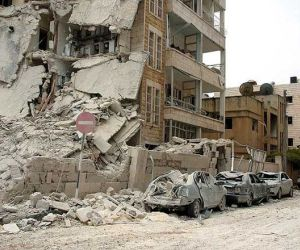 Palestinian Neighborhood near Damascus Attacked   Cubadebate