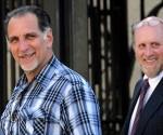 René González junto a su abogado Phillip Horowitz. Foto: Ladyrene Pérez/Cubadebate.