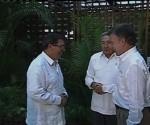 Raul recibe Santos