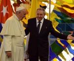 raul recibe Papa