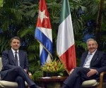 Raul y PM Italiano