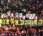 bloqueo cartel humano
