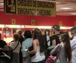 Cuba aeropuerto Check in