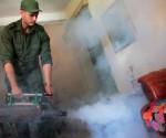 CUba fumiga zika