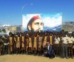 Fidel homenaje Namibia