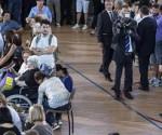 Italia funeral sismo foto chica