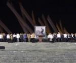 Homenaje Fidel Plaza Maceo