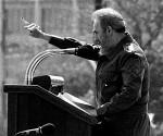 Fidel podium