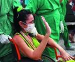 Cuba, enfremera covid