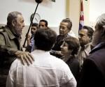 Fidel intelectuales
