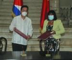 China y Cuba