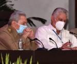 Canel y Raul congreso PCC